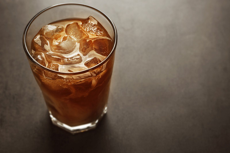 Cold-brewed iced coffee concentrate recipe