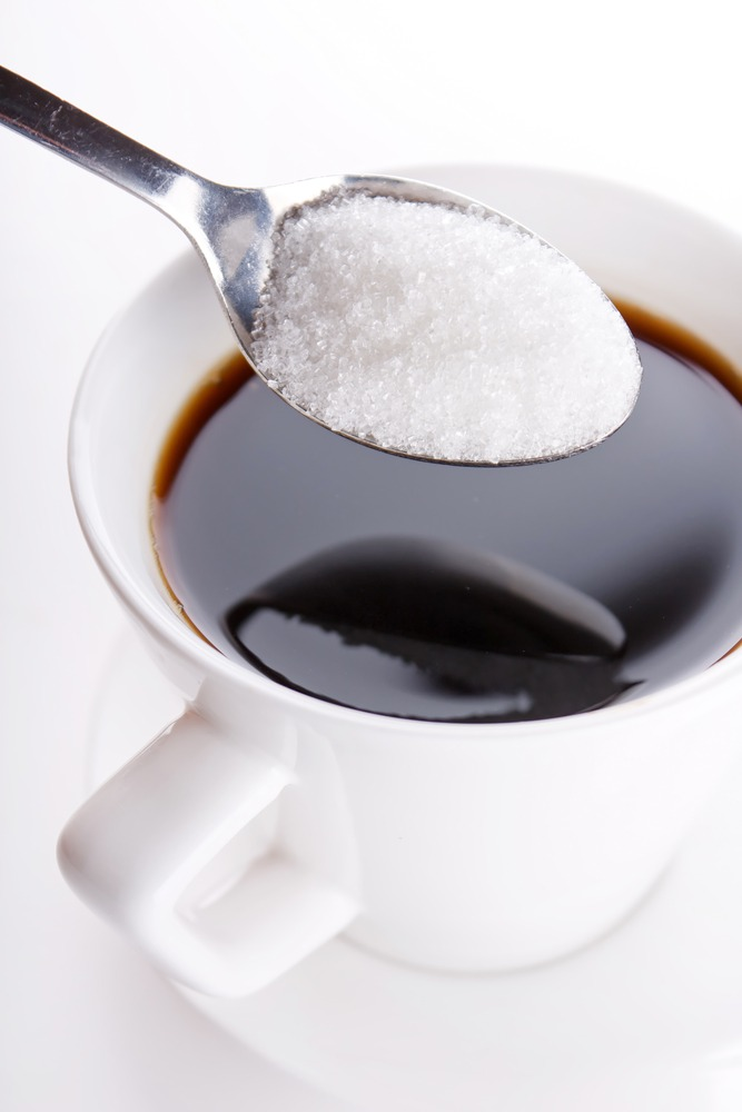 Dinking Black Coffee