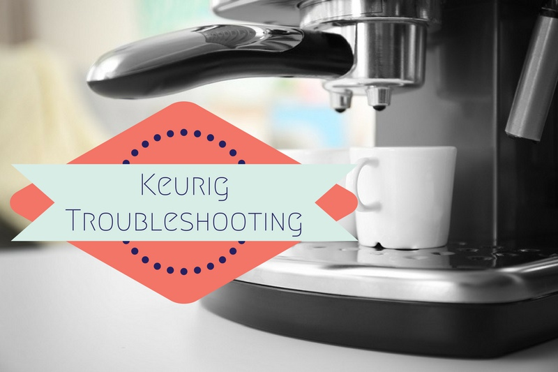 Keurig One Cup Coffee Maker Troubleshooting : Troubleshooting Guide for Keurig Coffee Makers - How To Fix at Home