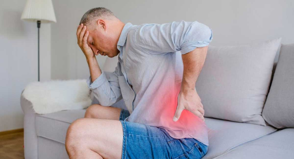 How to Sit on Sofa with Lower Back Pain
